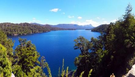 Panorama sur le Lago Espejo