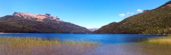 Panorama sur le lago Falkner