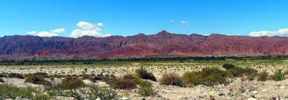 Panorama de la Quebrada Las Flechas