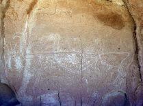 Pétroglyphes de Yerba Buena, 3 flamants