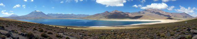 Panorama de la Laguna Miscanti