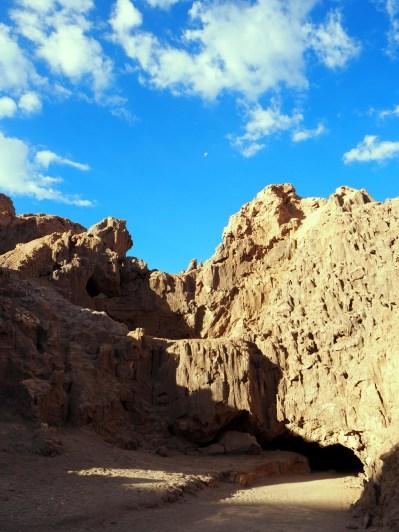 Vallée de la Lune, Canyon à côté de « Las Cuevas de Sal » (ou les grottes de sel en français).