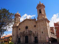 La cathédrale de Potosi, sur la Plaza de Armas de Potosí