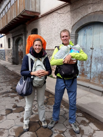 Elise et Julien chargés à bloc !