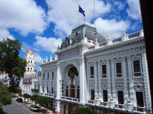 Palacio de la Prefectura de Chuquisaca, Plaza 25 de Mayo, Sucre