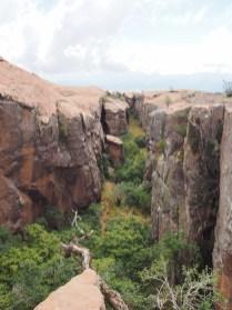 "Un ""canyon"" au parc de Toro Toro"