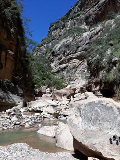 Le canyon de Toro Toro
