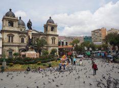 La cathédrale de La Paz