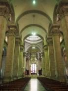 A l'intérieur de la cathédrale de La Paz