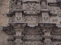 Détails de la façade de la Basílica San Francisco, La Paz