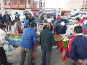 Baby-foot à El Alto