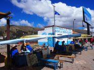 Au détroit de Tiquina, en route vers Copacabana (Bolivie, Lac Titicaca)