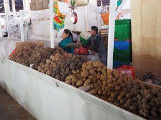 Au marché San Pedro de Cuzco