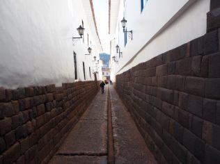 Ruelle aux fondations Inca dans Cuzco