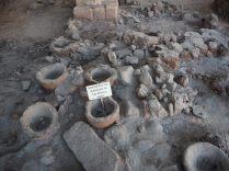 Vestiges de poteries Incas dans les temples encore présents à Cuzco
