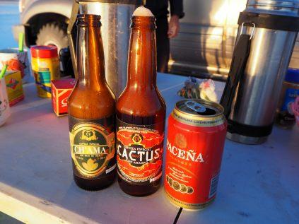 Petite selection de bières locales