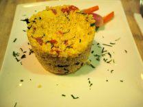 Tartare à base de quinoa