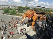Nantes, l'éléphant des machines de l'ile