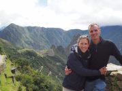 """Portrait depuis la """"porte du soleil"""", Machu Picchu"""