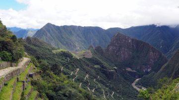 Panorama depuis la porte du soleil, Machu Picchu