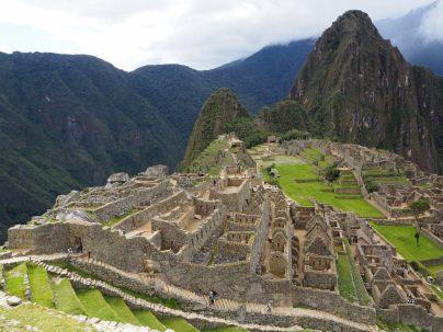 La zone urbaine de la cité inca du Machu Picchu