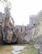 A l'intérieur du temple du condor