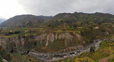 Panorama des terrasses, canyon de colca