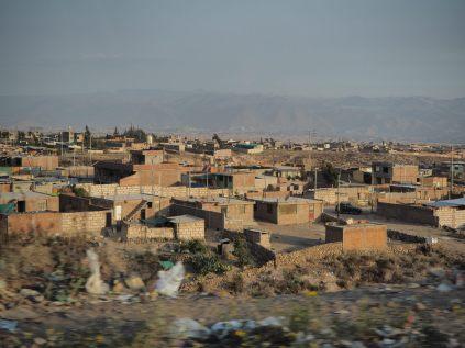 Retour à la réalité urbaine d'Arequipa