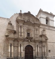 Facade de l'église de la Compagnie