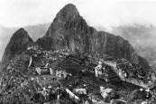 Photo du Machu Picchu prise par Hiram Bingham en 1912