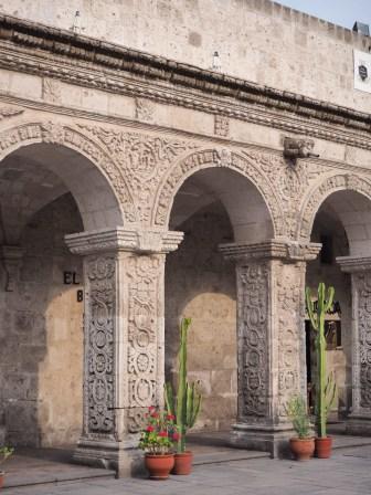Détail d'une façade, Aréquipa