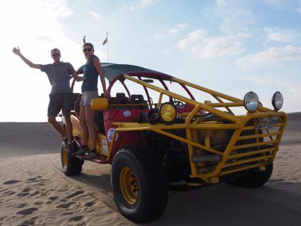 Escapade à buggy dans les dunes de l'oasis de Huacachina