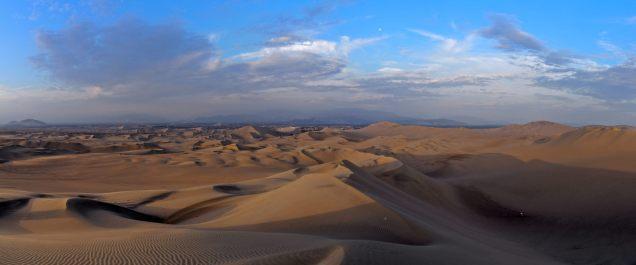 Panorama des dunes à Huacachina