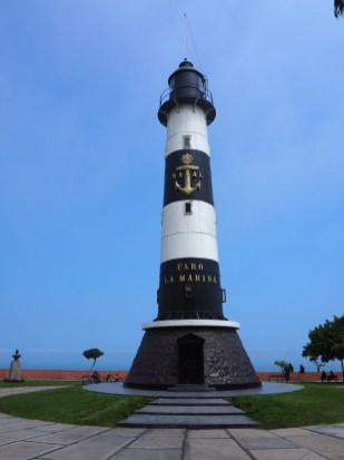 Le phare de Miraflores, dans le parc Raimondi