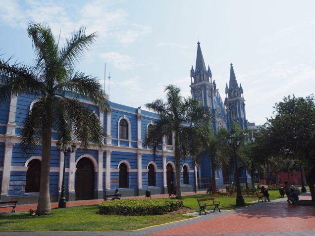 Eglise Recoleta à Lima