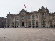 Palacio de Gobierno (Palais du gouvernement), Plaza Mayor, Lima