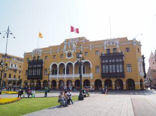 Municipalidad de Lima (l'Hôtel de Ville), Plaza Mayor, Lima