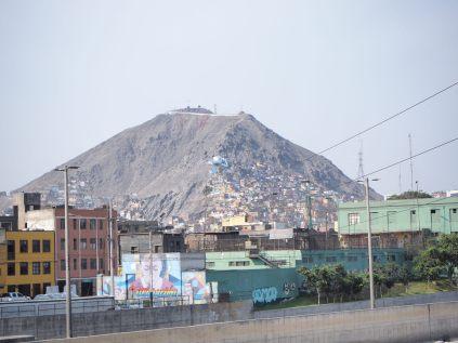 La colline San Cristobal, Lima