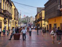 Vue sur le centre historique, Lima, Pérou