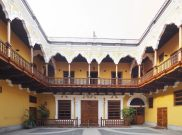 A l'intérieur d'une maison coloniale, Lima