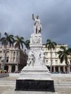 Statue de José Marti (fondateur du Parti révolutionnaire cubain), La Havane, Cuba