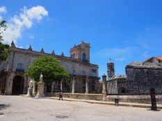 Castillo de la Real Fuerza, forteresse la plus ancienne de la Havane, construite en 1558.
