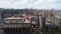 Vue sur les toitures de La Havane depuis l'hotel Parque Central