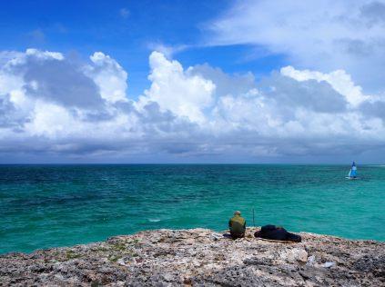 Vue sur la mer à Cayo Coco