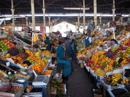 Marché aux légumes de Cuzco