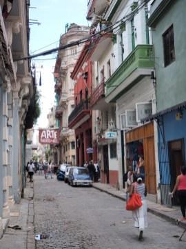 Dans le vieux quartier de La Havane
