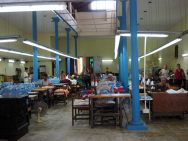 Atelier de couture à La Havane
