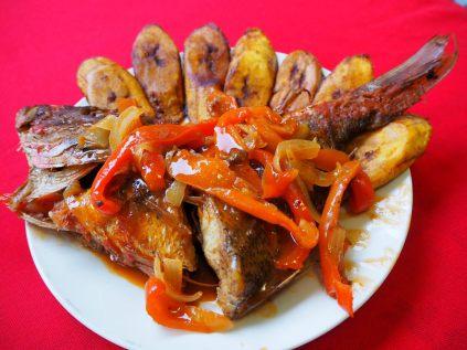 Repas Cubain à la casa
