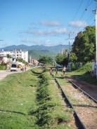 A la gare de Trinidad