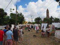 Les veudeuses de dentelles à La Torre Manaca, vallée de los Ingenios